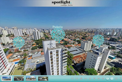 Tour virtual do Lançamento Spotlight no Campo Belo